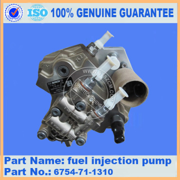 pompe d'injection de carburant komatsu PC200-8 6754-71-1310