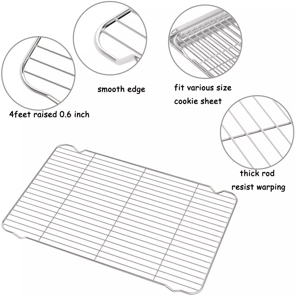 Barbecue Wire Baking Cooling Rack