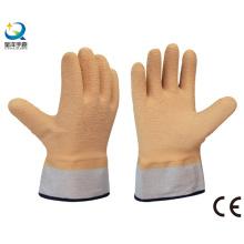 Рабочие перчатки с латексной перчаткой безопасности