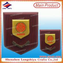 Gedächtnis-Goldplatte Holz-Schild-Plakette für Verkauf