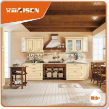 Mit Qualität Warrantee gefärbt mit Hardware Sperrholz Karkasse anpassen Massivholz Küchenschrank