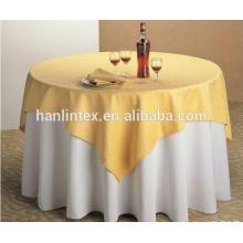 Hochwertige Textilien Polyester Tischdecke Mini matt Stoff