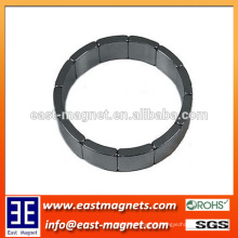 Hot sale Sintered neodymium arc shape neodymium magnets/N50 ndfeb magnet for motor