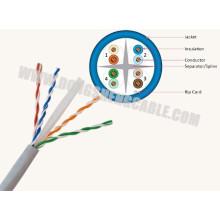 24 años de precio de fábrica Cable Cat5e / CAT6 / CAT6A UTP