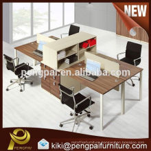 Hot high Quality Design Available Modern Style Workstation for 4 persons