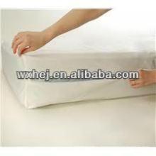 encapsulage imperméable de polyester de mite de poussière de punaise de lit pour le matelas jumeau