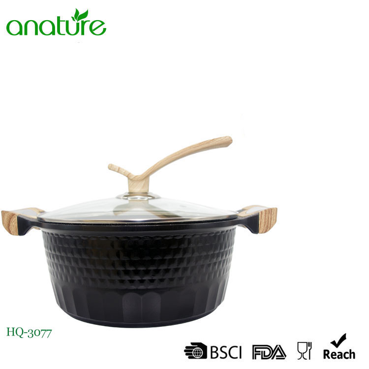 Diamond Series Die Cast Non Stick Sauce Pot