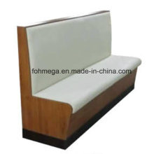 Bequemes Leder Bar Sofa zum Verkauf (FOH-CBCK23)