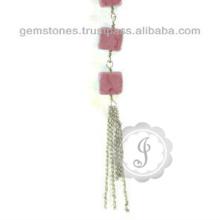 Designer Natural Quartz Gemstone Necklace For Women In Wholesale Price