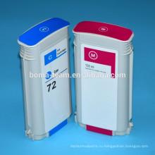 Совместимый патрон чернил для HP T2300 чернила принтера картридж для HP 72