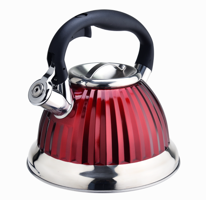Induction Red Diamond Tea Pot Kettle 407