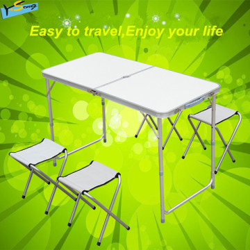 Protable Type Outdoor Folding Table with Chair