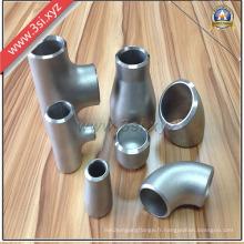 Raccords de tuyaux en acier inoxydable forgé ANSI B16.9 (YZF-PZ115)