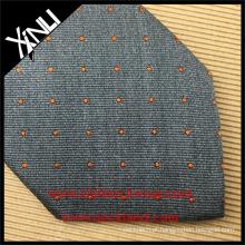 100% Handmade Perfeito Nó Jacquard Tecido Pescoço de Seda Pura Gravata Apenas Pescoço Designs