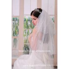 Astergarden Real Photo Mantilla style Voiles de mariage nuptiale ASJ005