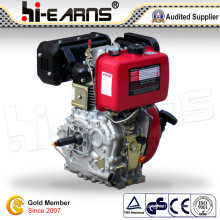 Diesel Engine with Keyway Shaft and Normal Air Filter Red Color (HR186F)
