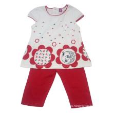 Traje de niña de verano Kids en ropa de niños (SQ-001)