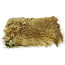 Wholesale Long Hair Goat and Sheep Skin Plate