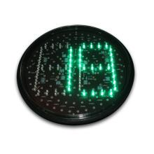 Minuterie de compte à rebours pour feux de circulation de 300 mm à 2 chiffres