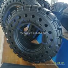 neumático sólido 6.50-10 con orificio bueno para disipar el calor
