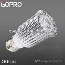 CE / ROHS 500lm E27 светодиодные лампы месте