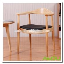 Silla de mesa de café / Silla de café de madera antigua