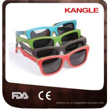 Топ дизайнер продажа с случае Италия дизайн деревянные очки