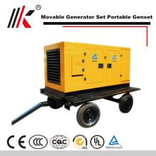 Générateur diesel mobile du générateur 120kw rv avec la station d'énergie silencieuse mobile