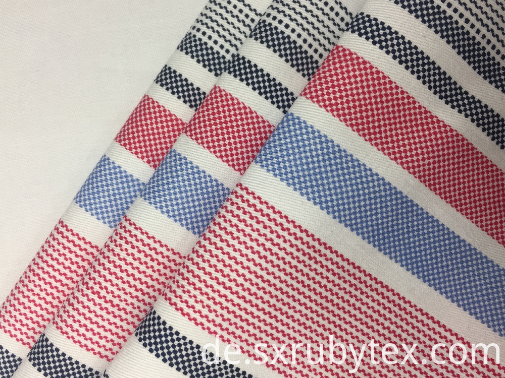 32s Cotton Spandex Twill Print Fabric