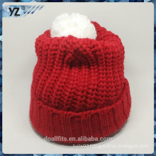 cheap and high quality with custom design knitted hat made in china
