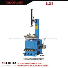 Tire Changer Semi-automatic side swing arm with help arm