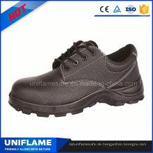 Schwarze Lederfabrik-Bau-Männer-Sicherheits-Arbeitsschuhe Ufa023