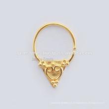 Septum Nose Ring Piercing Jóias, Handmade Designer Septum Nariz Anel Corpo Jóias Fornecedores por atacado