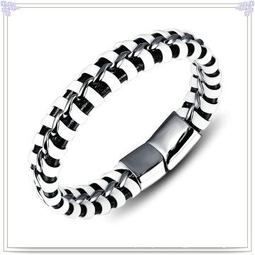 Bijoux fantaisie Bijoux en cuir Bracelet en cuir (LB119)