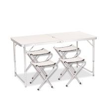 Fornecimento de fábrica de boa qualidade mesa de piquenique dobrável multifuncional mesas de restaurante