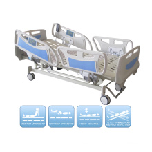 Electric Five Function ICU Hospital Bed with Ce ISO Standard