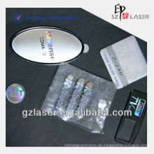 Hologramm Regenbogen-Effekt Nickel-Metall-Etikett für Handy