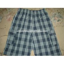 Tela teñida hilado de algodón Y / D para los cortocircuitos de los boxeadores