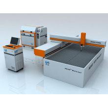 CNC máquina de corte de chorro de agua abrasivo para metal / mármol / caucho / plástico / espuma
