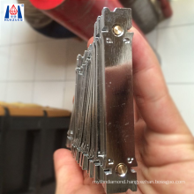 brazed retipping Magnet holder for welding core drill bit segment