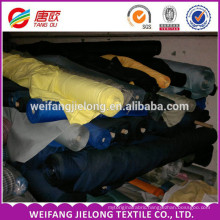 dyed T/C twill drill Fabric stock 100% Cotton twill fabric dyed for uniform and workwear