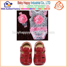 2014 Heiße Verkäufe moderner rosafarbener Leoparddruckbaby