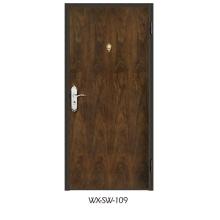 Expert Supplier Steel Wooden Door (WX-SW-109)