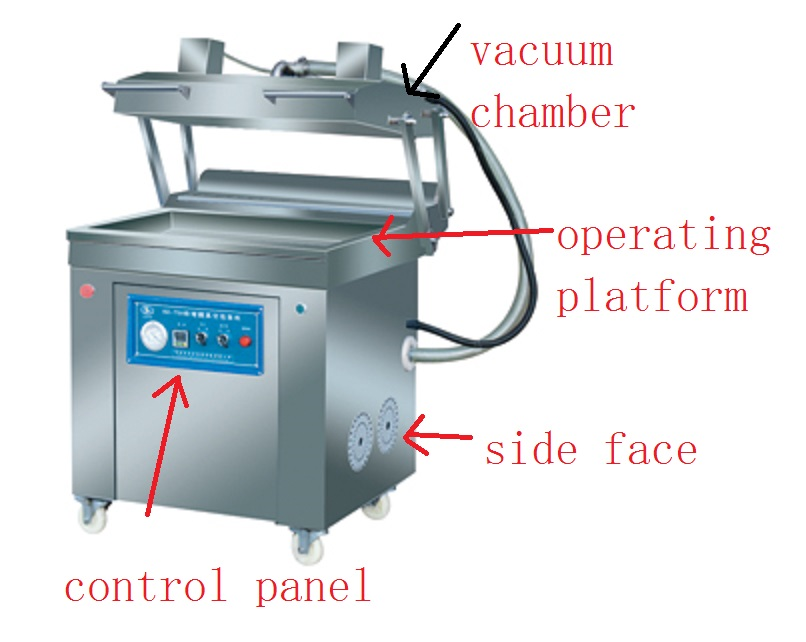 Sweet Maize Vacuum Packing Machine