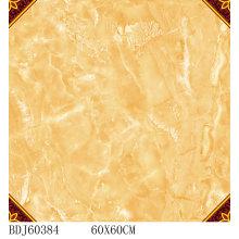Mejor calidad alfombra azulejos con oro con 600X600mm (BDJ60384)