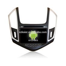 Quad-Core! Auto-DVD mit Spiegellink / DVR / TPMS / OBD2 für 8-Zoll-Touchscreen-Quad-Core 4.4 Android-System CHEVROLET CRUZE 2013