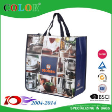 BSCI Audit laminated non woven shopper bag