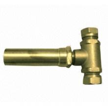 Válvula de pressão de latão pequeno tamanho água Hammer
