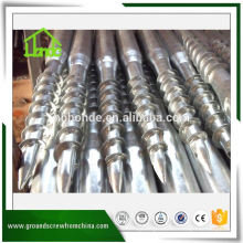 Anclaje de tornillo de tierra barato para hierro fundido galvanizado en caliente