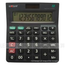 Calculadora de imposto de energia dupla de 12 dígitos com função de imposto opcional (CA1227)